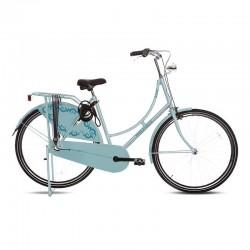 světle modré dámské kolo do města