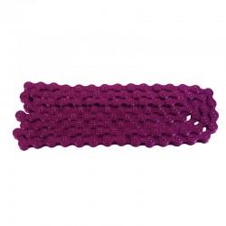 řetěz na jednopřevodník, fialová barva