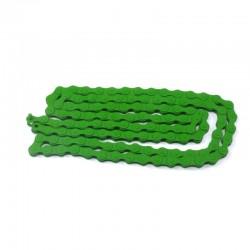 řetěz FixBike zelený 112 čl. 1/2 x 1/8