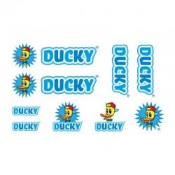 samolepka na kolo - rámový polep Ducky Blue
