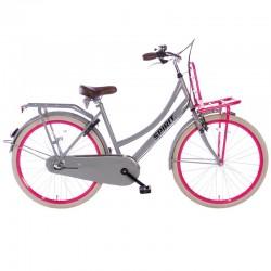 """městské kolo Spirit Cargo N3 26"""" (46 cm) Plus, Grey-Pink, 3 rychl."""
