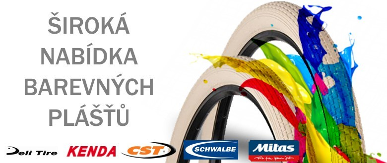 Široká nabídka barevných cykloplášťů
