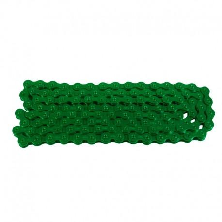tmavě zelený řetěz KMC na jízdní kolo