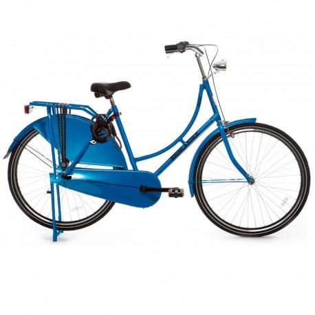 městské retro kolo tmavě modré