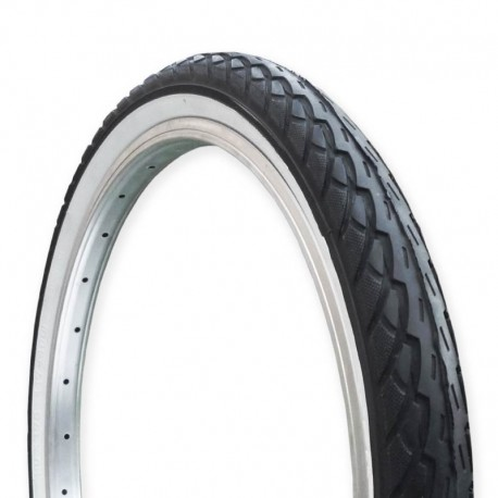 pneumatika na kolo s bílým bokem (white wall)-47-406