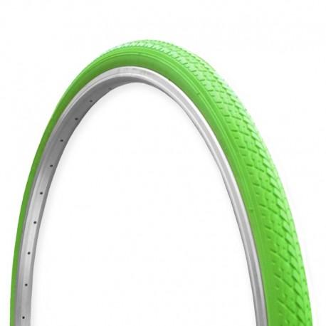 zelený plášť (pneumatika) na kolo, rozměr 700x35C