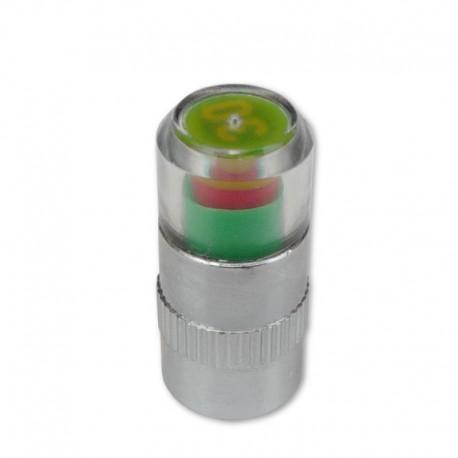 čepička ventilku moto, ukazatel tlaku