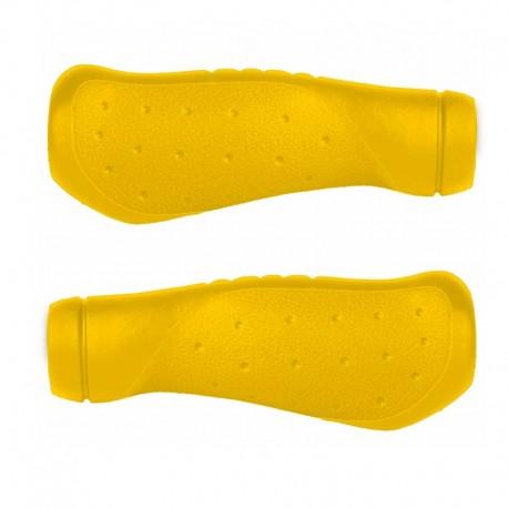 rukojeti M-Wave Ergo 125 mm žluté