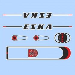 samolepka na kolo - rámový polep Eska, arch 01