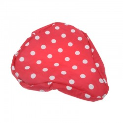potah sedla M-Wave Dots red+white