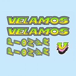 samolepka na kolo-rámový polep Pionýr Velamos