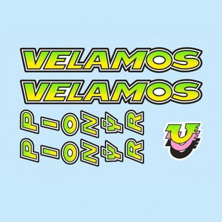 samolepka na kolo - rámový polep Pionýr Velamos