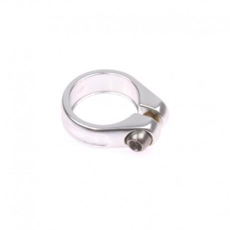 objímka podsedlová 28,6 mm stříbrná