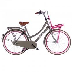 """městské kolo Spirit Cargo N3 28"""" (53 cm) Plus, Grey-Pink, 3 rychl."""