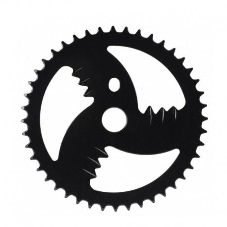 ozub. kolo (převodník) 44 zub, BMX, černý