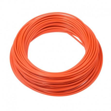 bowden řadící, 4 mm, oranžový