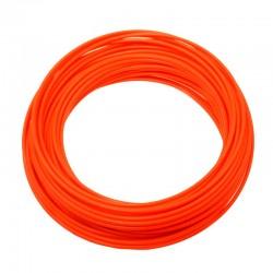 bowden řadící, 4 mm, oranžový Fluo