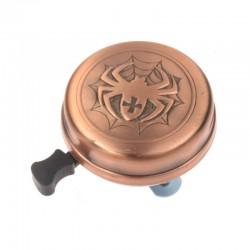 zvonek Copper Spider, měděný