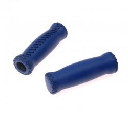 rukojeti Leatherette Attune modré, koženka, 125 mm