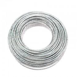 bowden brzdový, 5 mm, stříbrný lesklý