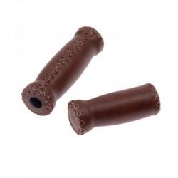 rukojeti Leatherette Monte Grappa hnědé scansano, koženka, 120+90 mm