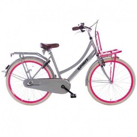 """městské kolo Spirit Cargo N3 24"""" (42 cm) Plus, Grey-pink, 3 rychl."""