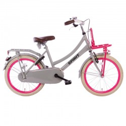 """dětské kolo Spirit Cargo 20"""" (34 cm) Grey-pink"""
