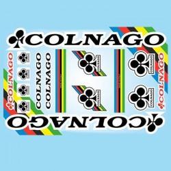 samolepka na kolo - rámový polep Colnago