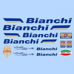 samolepka na kolo - rámový polep Bianchi
