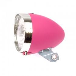 světlo přední 3xLED růžové