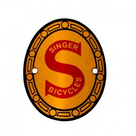 hlavový štítek na kolo, Singer Bicycles