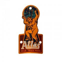 hlavový štítek na kolo, Atlas