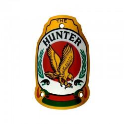 hlavový štítek na kolo, Hunter
