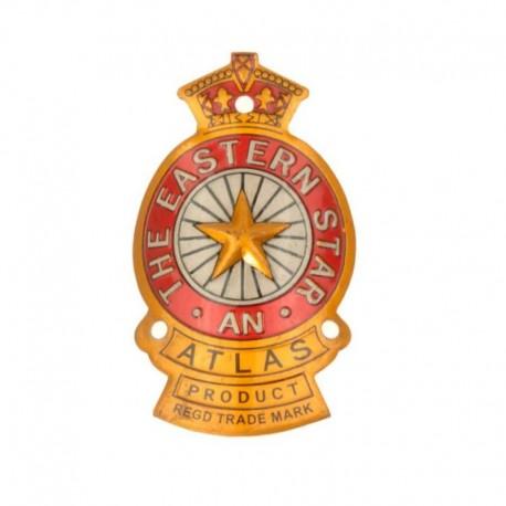 hlavový štítek na kolo, Atlas Eastern Star