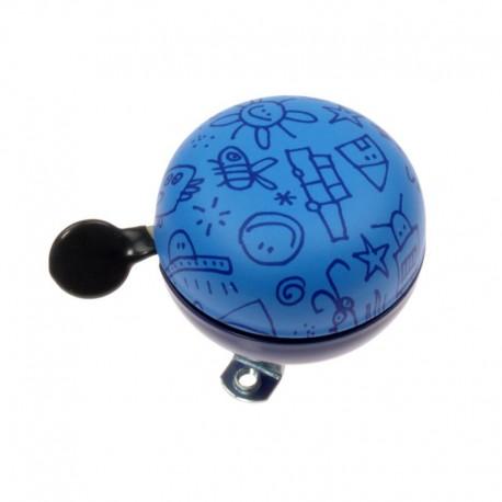 zvonek Ding Dong 60 Doodle blue