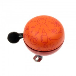 zvonek Ding Dong 60 Doodle orange
