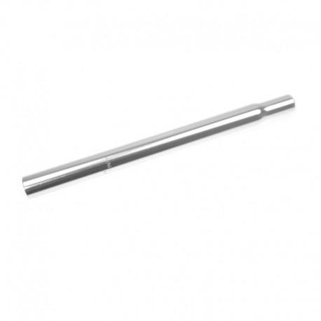 sedlovka 27,2/330 mm, hliník, stříbrná