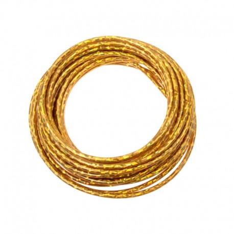 bowden brzdový, 5 mm, zlatý lesklý