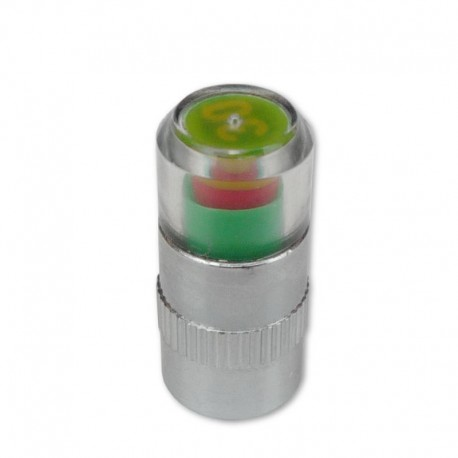čepička ventilku moto, s ukazatelem tlaku, 240 kPa