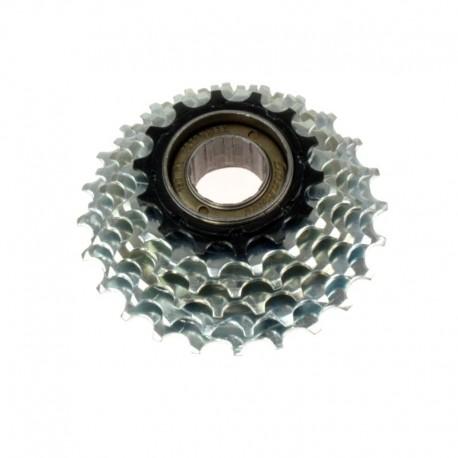 šroubovací kolečko SunRace, 6rychl. (14-24 zub.), index