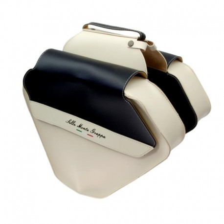 brašna Monte Grappa Fashion, dvojitá, krémová/černá