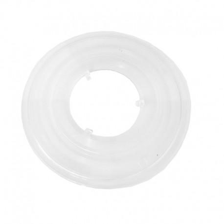 kryt (talíř) pro kazetu (vícekolečko), 130 mm, čirý