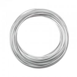 bowden brzdový, 5 mm, stříbrný