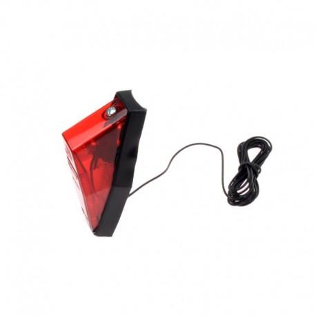 světlo zadní na dynamo, Spanninga Nr. 8, kabel 200 cm