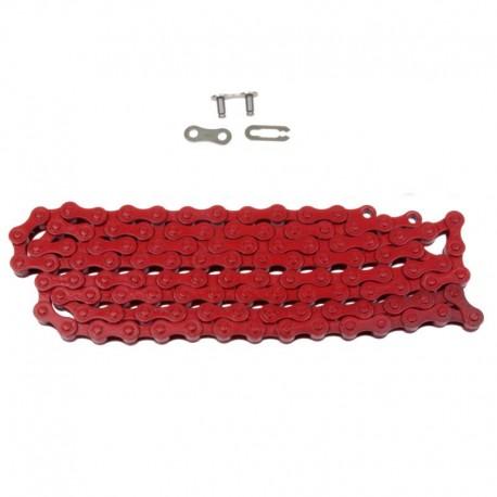 řetěz Nexelo 1/2 x 1/8, 112 čl., červený