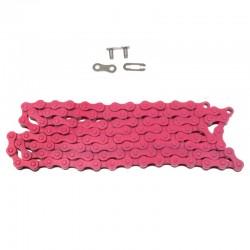 řetěz Nexelo S410H 1/2 x 1/8, 112 čl., růžový