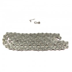 řetěz Nexelo S52-S2 1/2 x 3/32, 116 čl., stříbrný