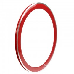 """ráfek 28"""" (622 mm), 36 děr, AL, červený"""