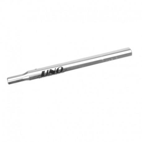 sedlovka 30,4/300 mm, hliník, stříbrná
