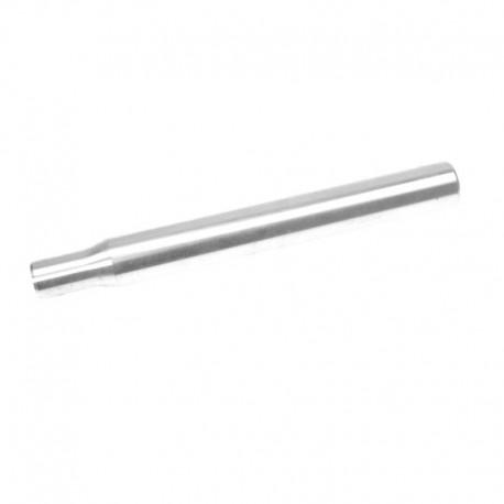sedlovka 27,2/250 mm, hliník, stříbrná